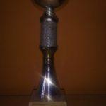 """Trofeu 4t classificat al 1r Torneig Internacional Balonkorf """"La Maurina"""" 1992"""